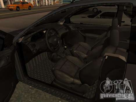 Ford Ka 1998 для GTA San Andreas вид сзади слева