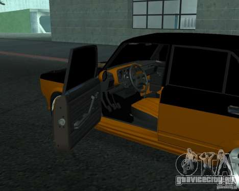 ВАЗ 21053 тюнинг для GTA San Andreas вид сзади слева