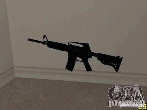 M4 MOD v1 для GTA San Andreas