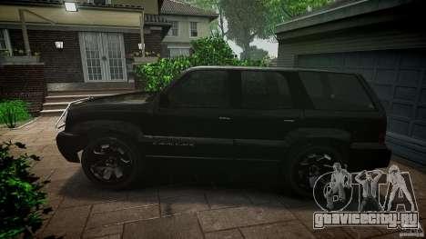 Cavalcade FBI car для GTA 4 вид слева