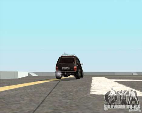 ВАЗ 21213 Offroad для GTA San Andreas вид сзади слева