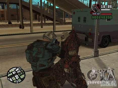 Локаст Theron Guard для GTA San Andreas четвёртый скриншот