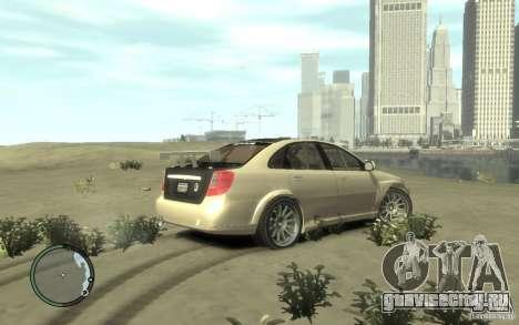 Chevrolet Lacetti Street Tune для GTA 4 вид сзади слева