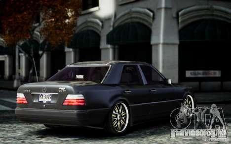 Mercedes Benz E500 для GTA 4 вид слева