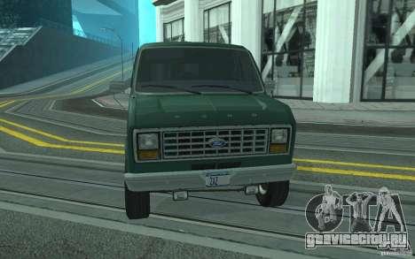 Ford E-150 Short Version v4 для GTA San Andreas вид сбоку