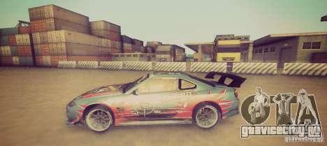 Tokyo Drift map для GTA San Andreas третий скриншот