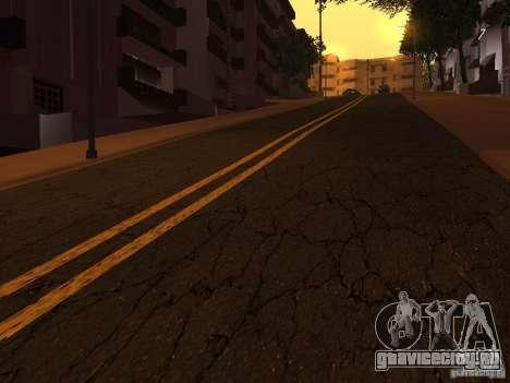 Новые дороги на Гроув-Стрит для GTA San Andreas пятый скриншот