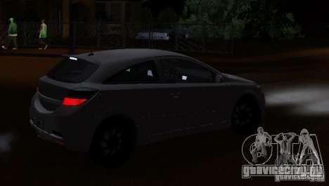 Opel Astra GSI для GTA San Andreas вид слева