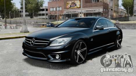 Mercedes-Benz CL65 AMG v1.1 для GTA 4