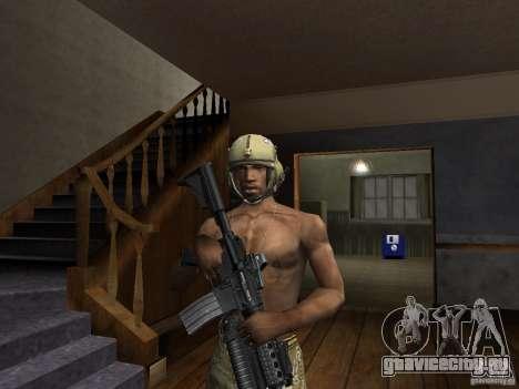 Головные уборы Call of Duty 4: Modern Warfare для GTA San Andreas второй скриншот