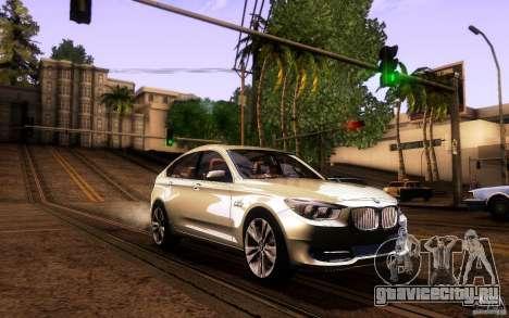BMW 550i GranTurismo 2009 V1.0 для GTA San Andreas вид снизу