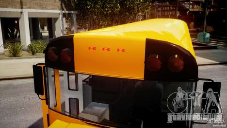 School Bus [Beta] для GTA 4 вид снизу