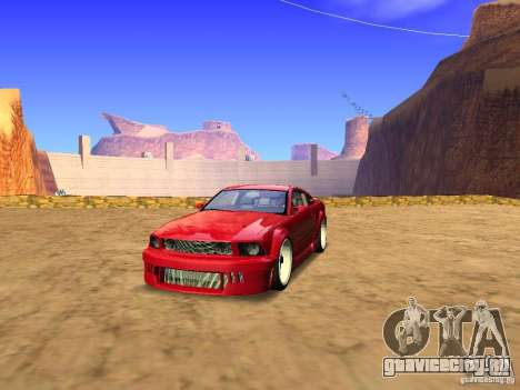 Ford Mustang GT 2005 Tuned для GTA San Andreas