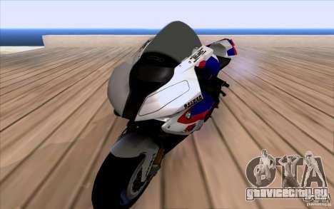 BMW S1000 RR для GTA San Andreas