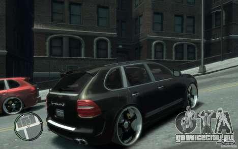 Porsche Cayenne для GTA 4 вид справа