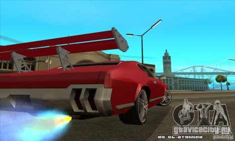 Sabre Drift для GTA San Andreas вид сзади слева