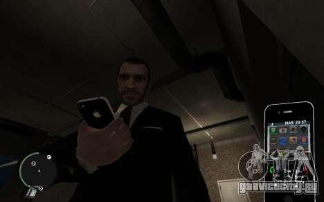 Iphone 4G для GTA 4 второй скриншот