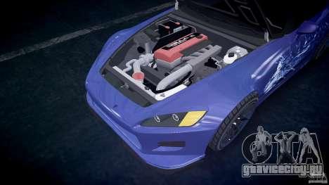 Honda S2000 Tuning 2002 skin 2 спокойный для GTA 4