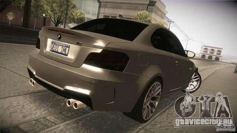 BMW 1M E82 Coupe 2011 V1.0 для GTA San Andreas вид справа