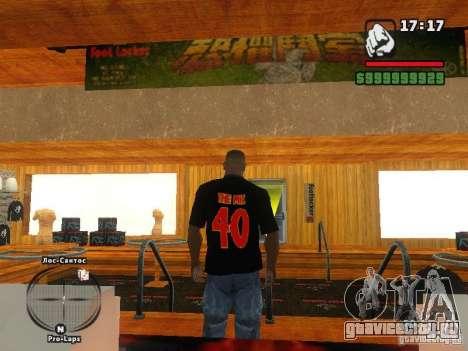 Футболка THE MIZ для GTA San Andreas второй скриншот