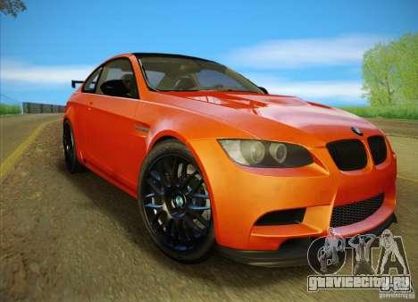 BMW M3 GT-S Final для GTA San Andreas вид сбоку
