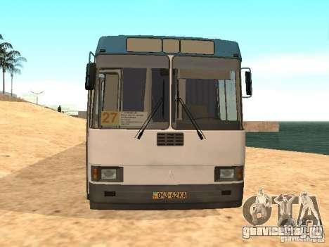 ЛАЗ 52527 для GTA San Andreas вид слева