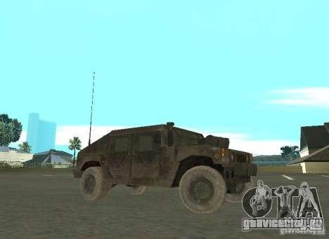 Hummer Cav 033 для GTA San Andreas вид слева