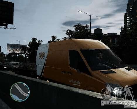 Mercedes-Benz Sprinter TNT для GTA 4 вид справа
