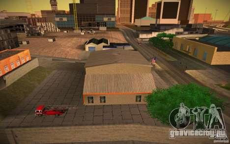 HD пожарная часть для GTA San Andreas третий скриншот