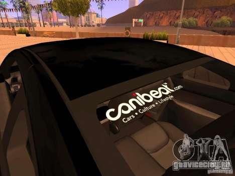 Infiniti G35 V.I.P для GTA San Andreas салон