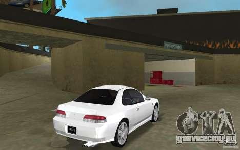 Honda Prelude 2.2i для GTA Vice City вид сзади