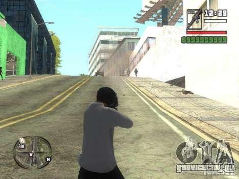 Black Helmet для GTA San Andreas