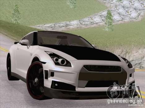 Nissan GTR Edited для GTA San Andreas вид слева