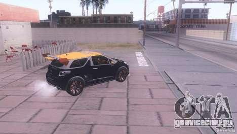 Citroen DS3 Tuning для GTA San Andreas вид сзади слева
