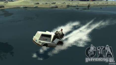 Airtug boat для GTA 4