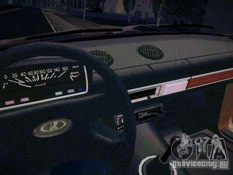 ВАЗ 21011 для GTA San Andreas вид сбоку