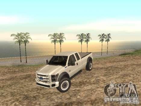 Ford Super Duty F-550 для GTA San Andreas