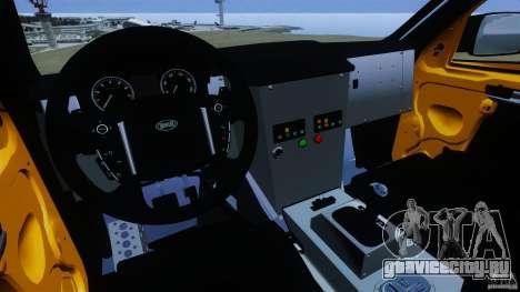 Bowler EXR S 2012 для GTA 4 вид сзади