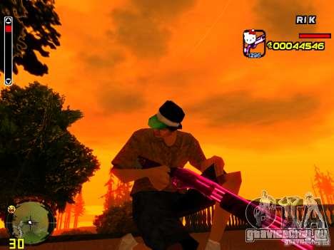 Hello Kitty weapon для GTA San Andreas третий скриншот