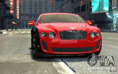 Bentley Continental SS MansorY для GTA 4 вид сбоку