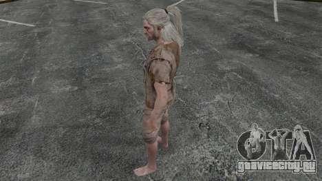 Геральт из Ривии v6 для GTA 4 четвёртый скриншот