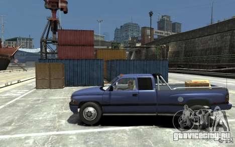 Dodge Ram 3500 1994 для GTA 4 вид слева