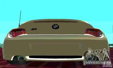 BMW Z4 E85 M для GTA San Andreas вид слева