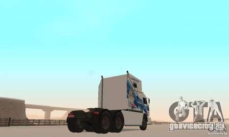 КамАЗ-РИАТ-54112 для GTA San Andreas вид сзади слева
