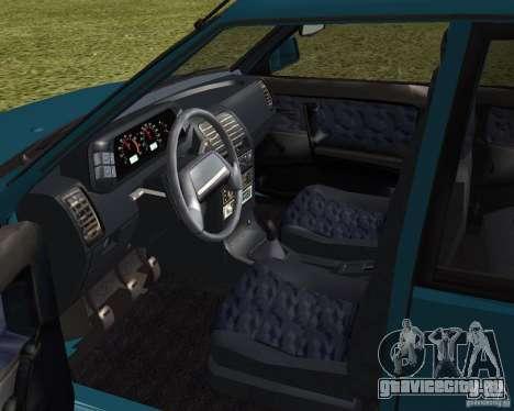 ВАЗ 21099 Люкс для GTA San Andreas вид сзади