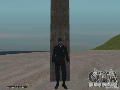 Сержант ППС для GTA San Andreas девятый скриншот