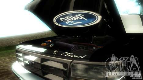 Ford F350 1992 для GTA San Andreas вид сбоку
