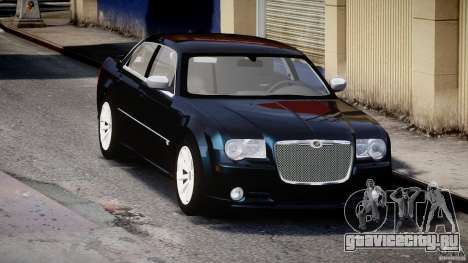 Chrysler 300C SRT8 для GTA 4 вид сзади