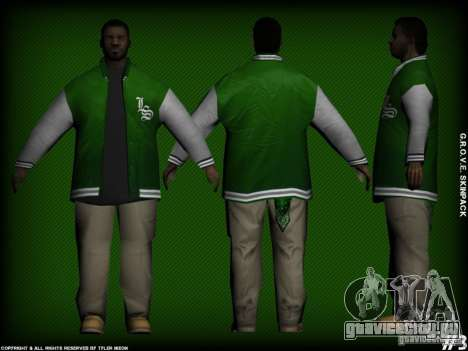 G.R.O.V.E. Skinpack для GTA San Andreas