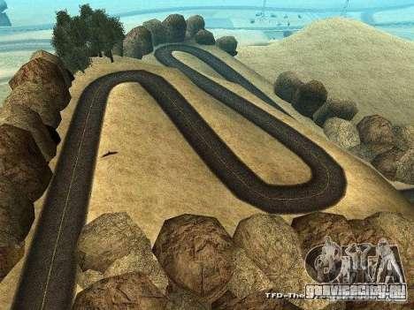 Downhill Drift для GTA San Andreas четвёртый скриншот